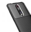 Θήκη  TPU σιλικονη Carbon fiber Shockproof    πίσω κάλυμμα για Xiaomi Mi 9T / Redmi K20 Pro Μαύρο (oem)