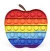 Pop It Παιχνίδι  ΑντιΣτρες - Bubble ουρανιο-τοξο Μήλο (oem)(bulk)