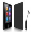 iPod Nano 7 - Θήκη TPU GEL Μαύρη Ημιδιάφανη (OEM)