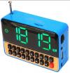 ΡΑΔΙΟ ΞΥΠΝΗΤΗΡΙ ΜΙΝΙ USB/ MICROSD MP3 ALARM TIMER WS-1513 (ΟΕΜ)