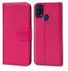 Θήκη Δερματίνης για Samsung Galaxy M31 - Ροζ (ΟΕΜ)