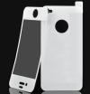 Πλήρες ολόσωμα αυτοκόλλητα για iPhone 4/4s Λευκό