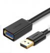 Καλώδιο  Ugreen USB 3.0 HDMI αρσ. σε  HDMI θυλ. 2μ., Μαύρο - 10373