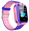 Q12 Παιδικό Smartwatch Ροζ Αδιάβροχη LBS location