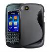 Θήκη TPU GEL  Με Γραμμή S για BlackBerry Q10 Μαύρο (OEM)