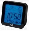 ME 3106 Ρολόι  Μετεωρολογικός Σταθμός με Οθόνη / Calendar Black (oem)
