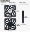 GDT8010s12B  80x80x10mm Dc 12v 0.13A / 2 pin Ανεμιστηράκι Brushless Fan (OEM)