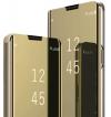 Θήκη Βιβλιο  Clear View για Xiaomi Poco X3 - Χρυσό (OEM)