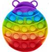 Pop It Παιχνίδι  ΑντιΣτρες - Bubble ουρανιο-τοξο  Εντομο (oem)(bulk)