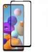 Προστατευτικό οθόνης Tempered Glass 9H-9D για Samsung Galaxy A21  πλήρους κάλυψης - full glue black (oem)