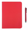 "Element+Pen TAB-80R  Foldable Leather Case + Pen for tablet 8 "" Red"