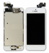 iPhone 5 Complete LCD with front camera, Speaker and Home Button in white