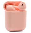 Ασύρματα Ακουστικά Bluetooth inPods 12  Earphone 5.0 HIFI Wireless  - Ροζ