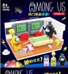 Model 708 Τυπου Lego  κατασκευή με φιγουρες Among Us.  (oem)