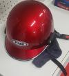 Jet κράνος μηχανής SAFE για αστική χρήση Απευθύνεται σε αναβάτες scooter και παπιών Κοκκινο