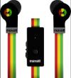 MAXELL Flat Wire Rasta (FL-450 Rasta) Ακουστικά
