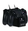 ΒΑΣΗ ΦΟΡΤΙΣΗΣ 4Gamers Dual Charge 'N' Stand BLACK PS4
