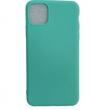 Θήκη ματ tpu μαλακή πίσω κάλυμμα για iPhone 11  ΤΙΡΚΟΥΑΖ (6.1) (OEM)