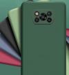 Θήκη ματ tpu σιλικονη μαλακή πίσω κάλυμμα για XIAOMI POCO X3 Πετρολ (oem)