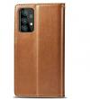Θήκη Δερματίνης για Samsung A52 5G - Καφέ (ΟΕΜ)