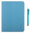 """Element+Pen TAB-110B Αναδιπλούμενη Δερμάτινη Θήκη & Στυλό για Τάμπλετ 10.1"""" Γαλάζιο"""