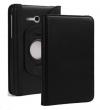 Δερμάτινη Θήκη Περιστρεφόμενη για το Samsung Galaxy Tab 3 Lite 7.0 Μαύρη (OEM)
