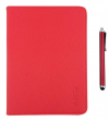 "Element+Pen TAB-110R  Foldable Leather Case + Pen for tablet 10.1"" Red"
