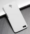 Σκληρή Θήκη Πλαστικό Πίσω Κάλυμμα για Alcatel One Touch Idol X (OT-6040D) Λευκή (ΟΕΜ)