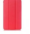Δερμάτινη Θήκη Tri-fold με πίσω κάλυμμα σιλικόνης / Slim Book Case για το Samsung Galaxy Tab A 10.1 (2016) T580 / T585 ΚΟΡΑΛΙ (oem)