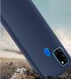 Θήκη Σιλικόνης για Samsung A21S Σκουρο Μπλε (ΟΕΜ)