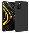EΥΚΑΜΠΤΗ TPU ΘΗΚΗ ΠΙΣΩ ΠΛΑΤΗ ΓΙΑ ΤΟ Xiaomi Poco M3 μαύρο (ΟΕΜ)