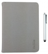 "Element+Pen TAB-80LG Foldable Leather Case + Pen for tablet 8 "" Grey"