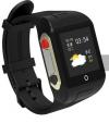 Ρολόι Χειρός με GPS για Ηλικιωμένους, SOS, Μετρητής Παλμών Μαύρο SD-SW802
