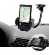 """Βάση Στήριξης κινητων και GPS  για τις Γρίλιες και το Τζαμι Αυτοκινήτου με Δυνατότητα Περιστροφής του Βραχίονα  για 6"""" (OEM)"""