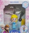 ELSA FROZEN  ΝΕΡΑΪΔΑ Παιχνίδι Flying Fairy με καλώδιο φόρτισης USB Ροζ (oem)