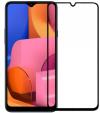 Προστατευτικό Οθόνης FULL FACE TEMPERED GLASS για Galaxy A30S / A50  μαυρο(OEM)