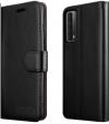 Θήκη Δερματίνης για Xiaomi Poco M3 - Μαύρη (ΟΕΜ)