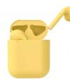 Ασύρματα Ακουστικά Bluetooth inPods 12  Earphone 5.0 HIFI Wireless  - Κιτρινο