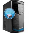 Powerlogic Futura Neo 100XV PC Case με Τροφοδοτικό 450W μπλέ FUTURANEO100XVGM