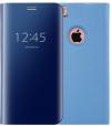 Θήκη Clear View για  Apple iPhone 7G/8G  Βαθύ Μπλε (ΟΕΜ)