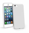 Iphone 5C Gel TPU Θήκη Λευκή I5CGTCW OEM