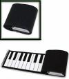 Piano Σιλικόνης Roll Up 37 Πλήκτρων - Μαύρο (OEM)