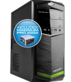 Powerlogic Futura Neo 100XV PC Case με Τροφοδοτικό 450W Πράσινο FUTURANEO100XVGM