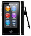 iPod Nano 7 - Θήκη TPU GEL Με Κλίπ Ζώνης Μαύρη (OEM)