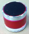 S09U Μίνι φορητό Ηχείο Bluetooth Με Στερεοφωνικό Ραδιόφωνο Με υποστήριξη TF Micro SD Mνήμης και Υποδοχή USB Κόκκινο