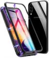 Μεταλλική μαγνητική θήκη για Samsung A10 ΜΑΥΡΗ (oem)