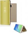 Θήκη Clear View για Samsung Galaxy J5  2017 / J530  Χρυσή (ΟΕΜ)