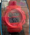 Unisex Ψηφιακό Αδιάβροχο Ρολόι Καρπού Σιλικόνης Χρώματος Κόκκινο (ΟΕΜ)