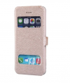 "Apple iPhone 6 4,7"" - Δερμάτινη Θήκη Με Πορτάκι  Χρυσό (OEM)"
