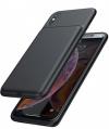 Εξωτερική μπαταρία πίσω κάλυμμα για iPhoneX iPhoneXs ΜΑΥΡΟ